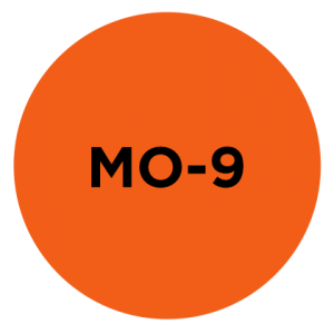#MO-9<br>Opaque Orange<br>PMS 021